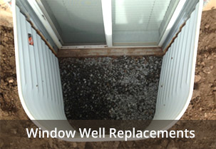 we install basement window well covers and liners in denver and the front range - Window Well Covers