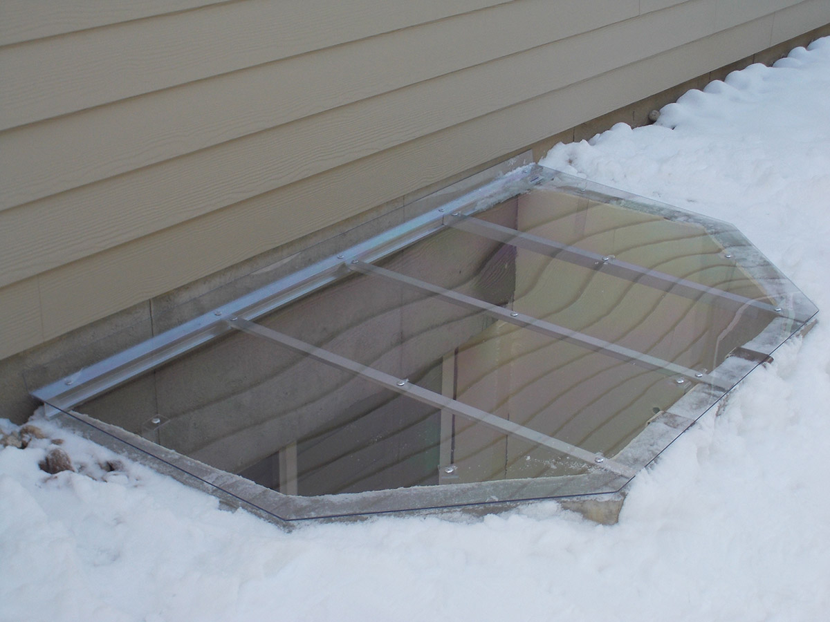 standard hinged well covers - Window Well Covers