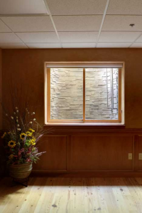 Faux Basement Window