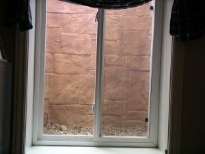 Italian Slate Custom Basement Window Well Liner