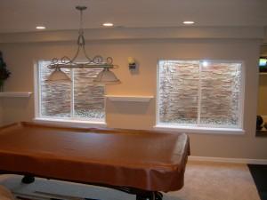 Stack Stone Tan Custom Basement Window Well Liner